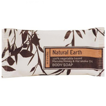 Picture of 15gm Natural Earth Wrapped Soap