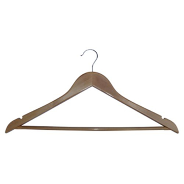 Picture of Coat Hanger - Lotus Wood Standard Hooked with Notches