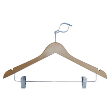 Picture of Wooden Pilfer Proof Skirt Clip Hanger
