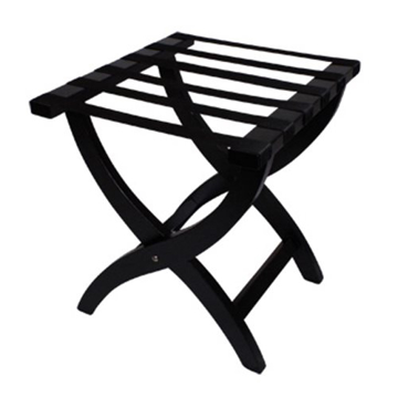 Picture of Elite Wooden Luggage Rack - Dark Brown