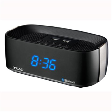 Picture of Clock Radio - TEAC Bluetooth Alarm Clock Radio Black