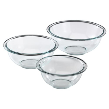 Picture of Pyrex 3-pc Mixing Bowl Set