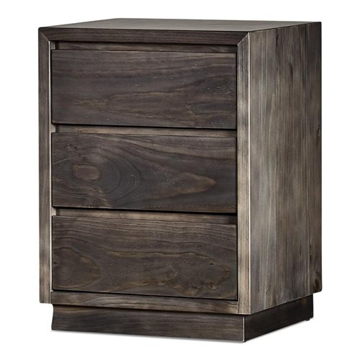 Picture of Bayview 3 Drawer Bedside Table