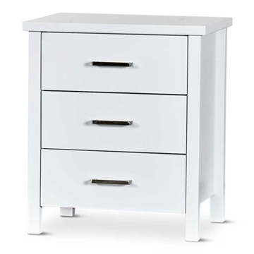 Picture of Hawaii 3 Drawer Bedside Table
