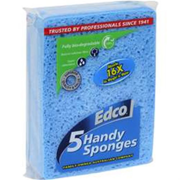 Picture of Edco Handy Sponge Natural Cellulose (5-PK)