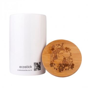 Picture of Ecostick Large Ceramic Canister & Lid