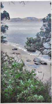 Picture of Cooks Beach Canvas