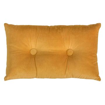 Picture of Velvet/linen Rectangle Cushion - Oak Buff