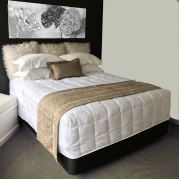 Picture of Chapeau Regal 50cm Bed Runner - Truffle