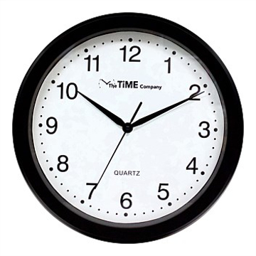 Picture of Basic Wall Clock 31cm Black