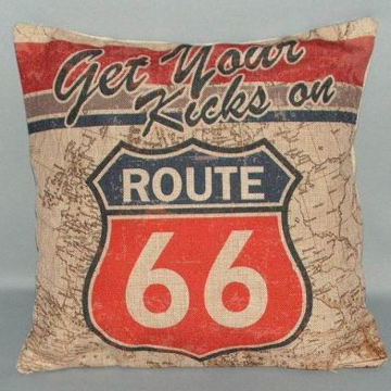 Picture of Route 66 Cushion