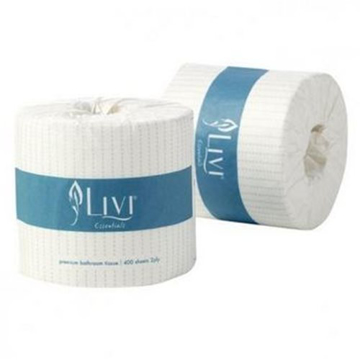Picture of Livi Essentials 400s Toilet Tissue - PALLET OF 32 CTNS
