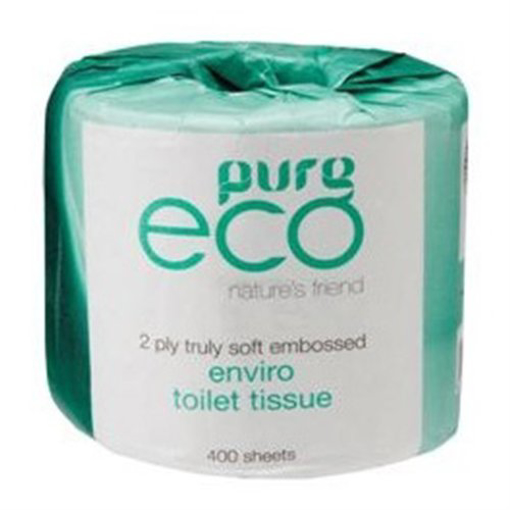 Picture of Pure Eco Recycled Toilet Tissue - 32 CARTONS PER PALLET