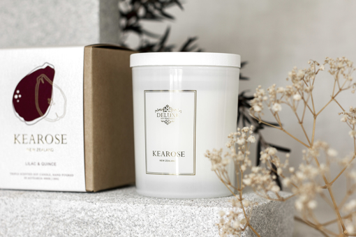 Picture of Kearose Candle - Lilac & Quince