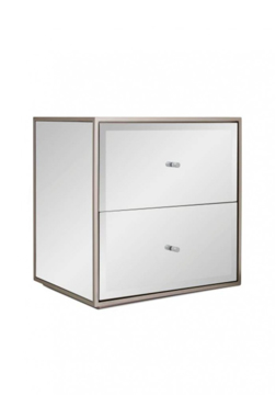 Picture of Melmo Mirrored Bedside Drawer
